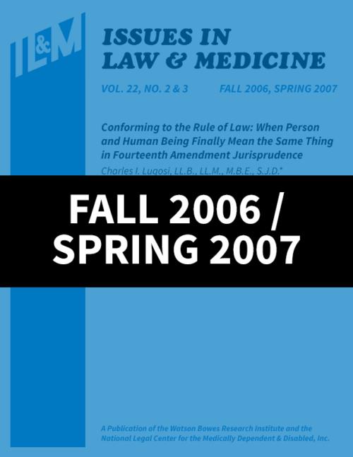 Fall 2006 / Spring 2007